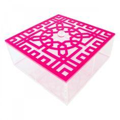 Yasmina: pink Arabesque Cookie Box