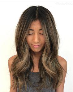 Hair color for tan skin, hair colour, love hair, gorgeous hair, hair sk Love Hair, Great Hair, Gorgeous Hair, Hair Color For Women, Hair Color And Cut, Hair Colour, Ombré Hair, Hair Dos, Messy Hairstyles