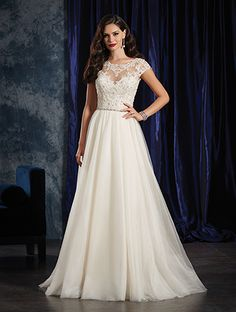 Alfred Angelo Bridal Style 990 from Boho Chic