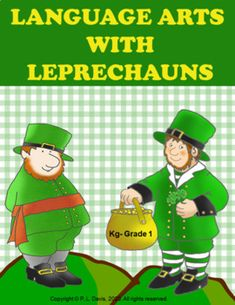 Language Arts With Leprechauns Distance Learning Teaching Materials, Teaching Resources, Classroom Resources, Kindergarten Activities, Kindergarten Writing, Kindergarten Teachers, Family Activities, Thing 1, English Language Arts