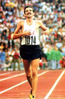 Frank Shorter, 1972 Olympic Marathon champion.