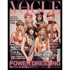 ICONIC!  #NEW || Doutzen Lara Vitto Natasha Joan and Anna on the cover of Vogue Japan. I am absolutely amazed so so stunning.  Love it!!! #doutzenkroes #joansmalls #natashapoly #vittoceretti #annaewers #larastone  via DAILY VICTORIA'S SECRET ANGELS OFFICIAL INSTAGRAM - Apparel  Fashion  Bras  Advertising  Culture  Beauty  Editorial Photography  Magazine Covers  Supermodels  Runway Models