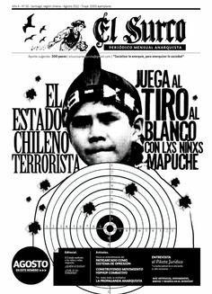 """¡Contra los medios del capital, periódico anarquista """"El Surco"""" en las calles!"""