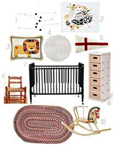 Scandinavian crib style // Jenny Lind