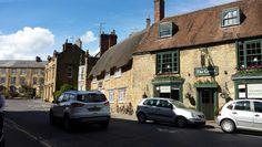 Sherborne town centre, Dorset UK
