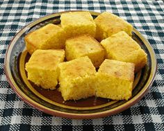 GF Corn Bread- I'd like to try this recipe. I made some the other day but the recipe was too crumbly for my liking.
