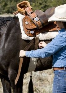 Top Horse Trainer Julie Goodnight Shows You Western Saddle Rigging for Your Horse