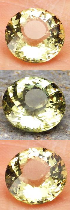 Apatite 110787: Apatite-Mexico 2.66Ct Flawless-For Top Jewelry-Lively Yellow Green Color-Video BUY IT NOW ONLY: $74.0