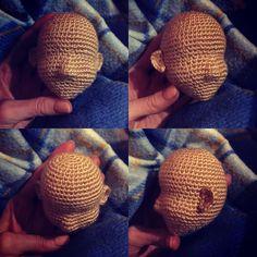 "91 Likes, 3 Comments - Ami 😎 (@amigurus) on Instagram: ""#amigurumi #crochetdoll #crochet #doll Теперь я этой частью полностью довольна, приступаем дальше)…"""