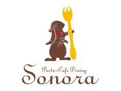 パスタ+カフェダイニング「Sonora」様ロゴ   熊本のホームページ・WEB制作・リニューアル/プレオデザイン【PREO DESIGN】
