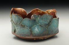 Sarah Wells Rolland See More. Pottery Pots, Slab Pottery, Ceramic Pottery, Pottery Ideas, Ceramics Projects, Clay Projects, Ceramic Plates, Ceramic Art, Unique Tile