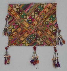Baluch bag. Mid to late 20th century.