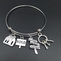 Real Estate Agent Bracelet Jewelry