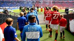 Unique shots from today's #CommunityShield by @MichaelRegan