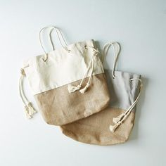 Canvas & Burlap Tote: For beach going, market toting, and general day-to-day use. #food52