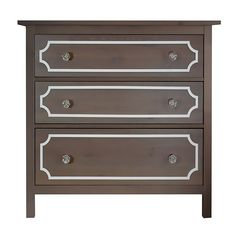 O'verlays Anne Kit for Ikea Hemnes 3 drawer dresser. A classic in home decor that works with any style of decorating. An easy diy furniture makeover.