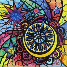 Asteri - Frequency Paintings - Teal Swan