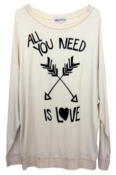 Wildfox Couture - Wildfox - All You Need Is Love - Roadtrip Sweater Dress