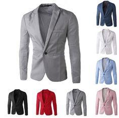 Men's Casual Suit Jacket                                                       …