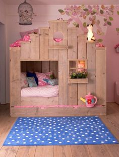 cute girl room idea