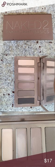 """Naked 2 urban decay Good condition naked palate """"frisk"""" was used twice and the """"cover"""" was used once none of the others have been touched. Got this as a present but just not into makeup! Urban Decay Makeup Eyeshadow"""