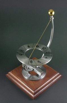 Sundial, small inclining, etched steel, adjustable for latitude, 002