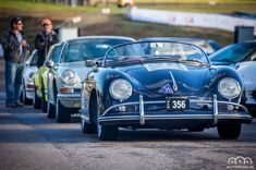 Can't wait to get back amongst these cars this weekend #rennsportaustralia2016 #porsche #356 #speedster with the first #911 in the country behind and a couple of #73RS to finish