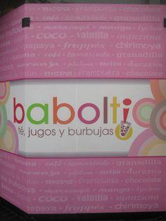E anche a Lima ho trovato il Bubble Tea. Che si chiama Babolti!