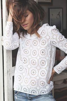 Lovely white blouse