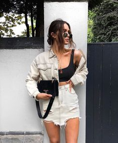Outfits Inspirations 50 Fabulous Streetwear Outfit Ideas That Will Make You A Trend Setter – Style O Check you can find similar pins below. Trendy Summer Outfits, Unique Outfits, Casual Outfits, Casual Summer, Summer Denim, Fresh Outfits, Sweater Outfits, Spring Summer, Mode Outfits
