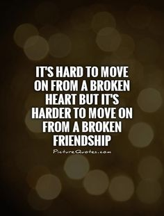 30 Broken Friendship Quotes