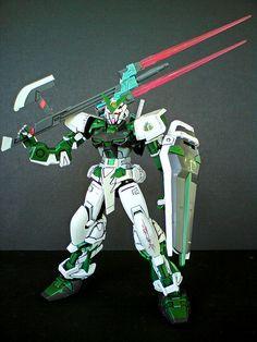 Gundam Astray Green Frame | by Infrasmell