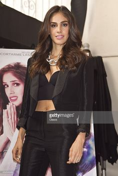 Sandra Echeverria poses for pictures during a press conference of the mexican movie Amor De Mis Amores on September 2, 2014 in Mexico City, Mexico. (Photo by Luis Ortiz/Clasos/LatinContent/Getty Images).