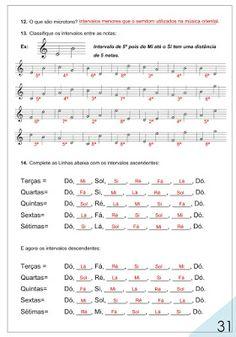 Aprendendo a Música : Voltei!!! Módulo 6 do caderno de exercício do MTS