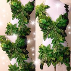 Deluxe Poison Ivy MonokiniPREMADE size 36C-34D/M von TheLoveShackk