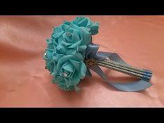 Свадебный букет супер простой способ ✔ ℳAℛίℕℰ DIY✔ - YouTube
