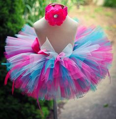 Tulle tutu shirt (without crochet headbands)