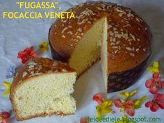 Fugassa Veneta, focaccia dolce di Pasqua Dolce, Menu, Bread, Recipes, Food, Outdoor Shutters, Breads, Menu Board Design, Eten