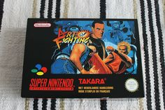 SNES ART OF FIGHTING BOX ONLY PAL VERSION NEW NO GAME NO MANUAL OEM