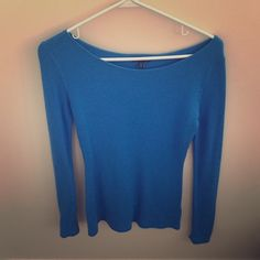 Express Blue Sweater Very cozy. Express Sweaters Crew & Scoop Necks