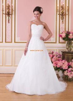 Glanz & Glamour Frühling Reißverschluss Brautkleider 2014