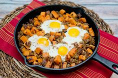Sweet Potato Hash and Sausage