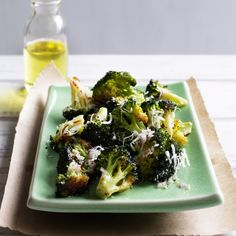 Roasted Broccoli with Lemon and Parmesan Recipe  - Melissa Rubel Jacobson | Food & Wine