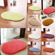 Non-slip Absorbent Memory Foam Bath Bathroom Bedroom Floor Shower Mat Rug Decor