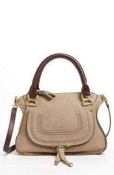 Chloé 'Marcie - Small' Nubuck Leather Shoulder Bag available at #Nordstrom