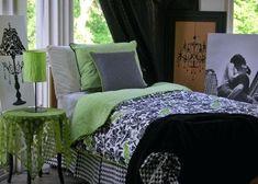deck my dorm announces new college bedding sets for girls bedroom setup 0