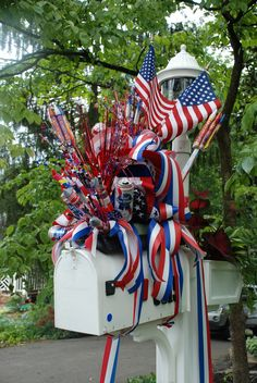 The best 4th of July decorations I have ever seen... | Flickr - Photo Sharing!