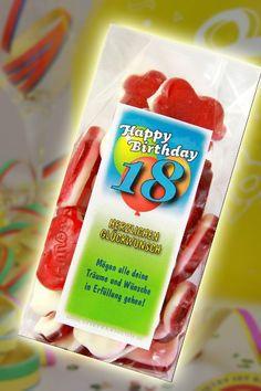 Herzlichen Glückwunsch Herzen zum 18 Geburtstag