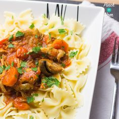 Syn Free Slow Cooker Chicken Cacciatore | Slimming World