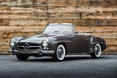"""Beautiful Mercedes-Benz #190SL. Via"""" http://www.lbilimited.com/wp_car_dealer/1960-mercedes-benz-190sl-3/"""